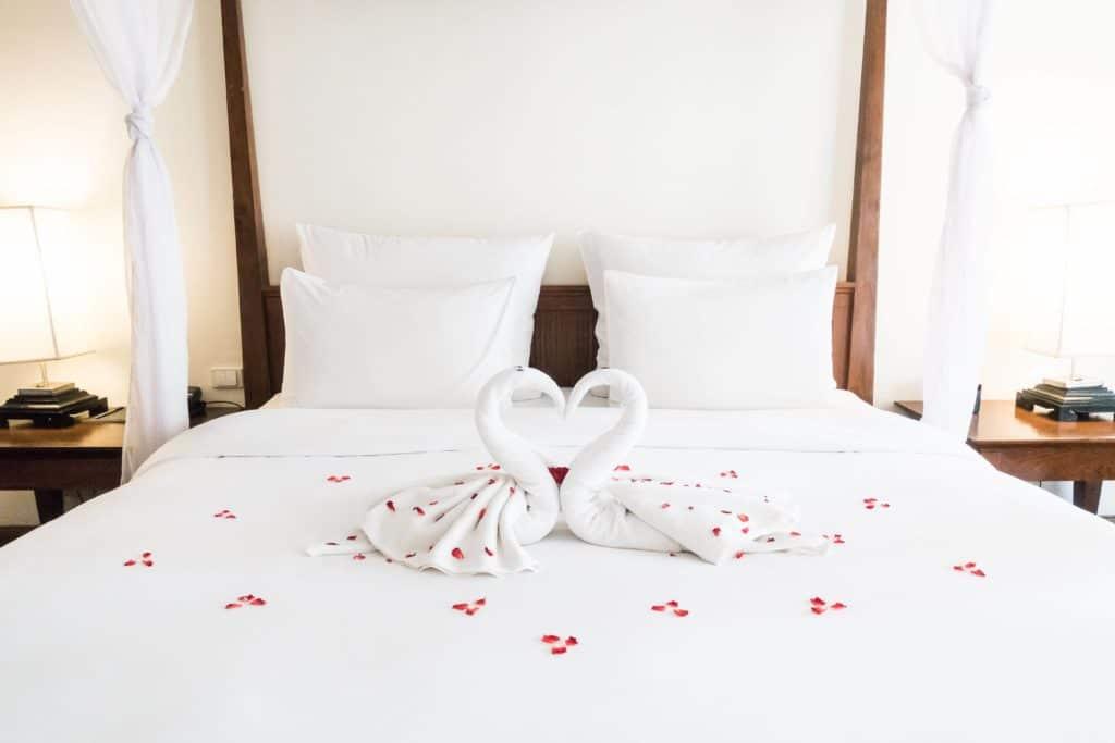 Bien dormir -Chambre cocooning - amour et sommeil