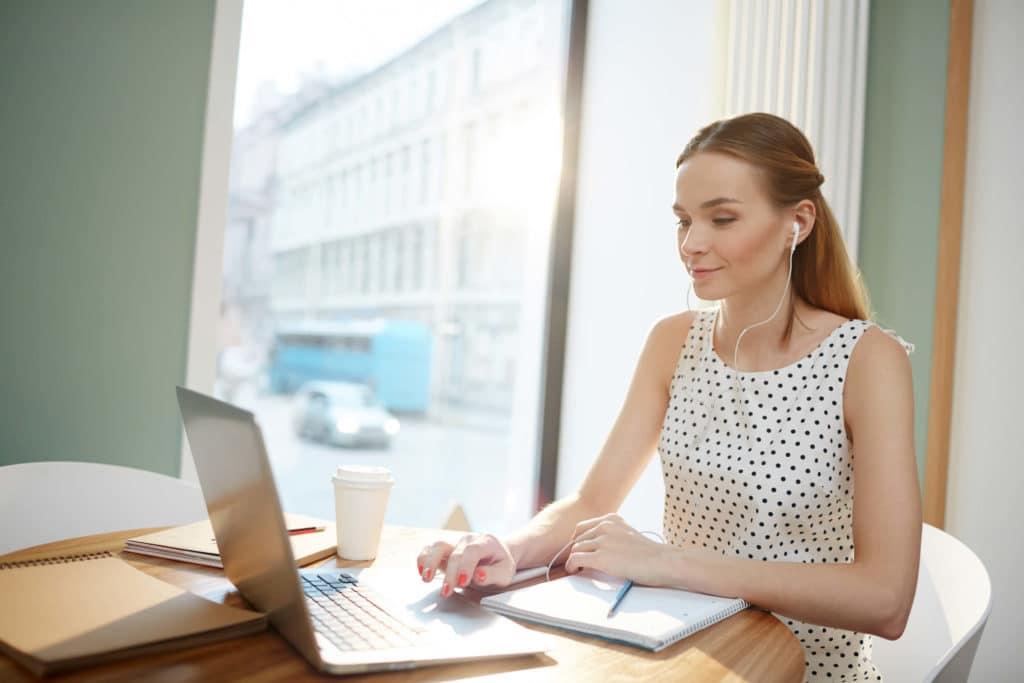 Travailler sans être dérangé - concentré