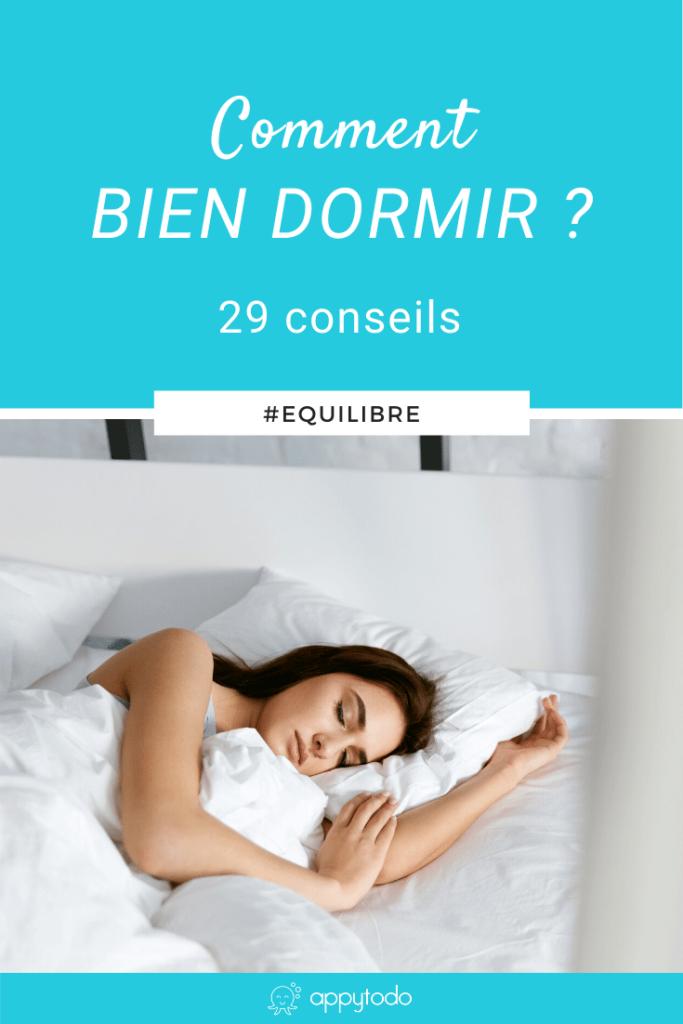 Comment bien dormir - 29 conseils