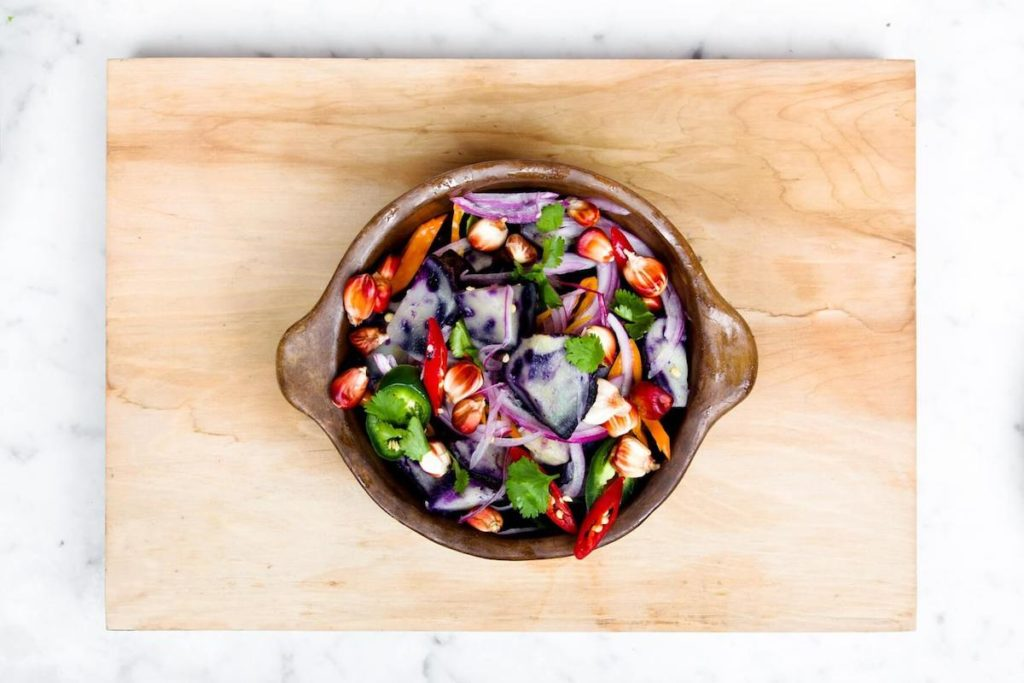 Cuisiner des salades au printemps