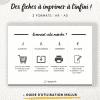 Comment fonctionne les printables en français ?