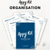 Appy Kit Organisation - classeur maison