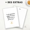 Appy 365 Planner personnalisable avec des citations, insert