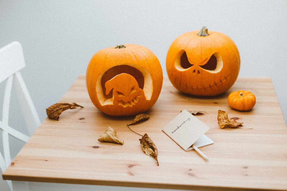 En Automne : faire des citrouilles pour Halloween