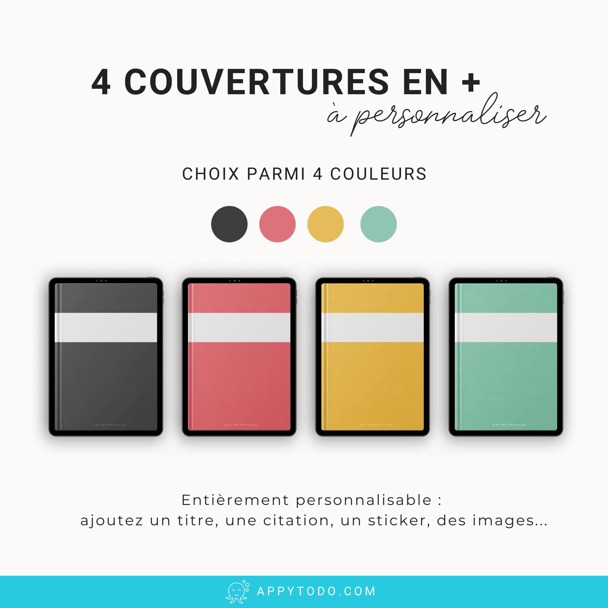 Couvertures personnalisable pour Ipad et tablette