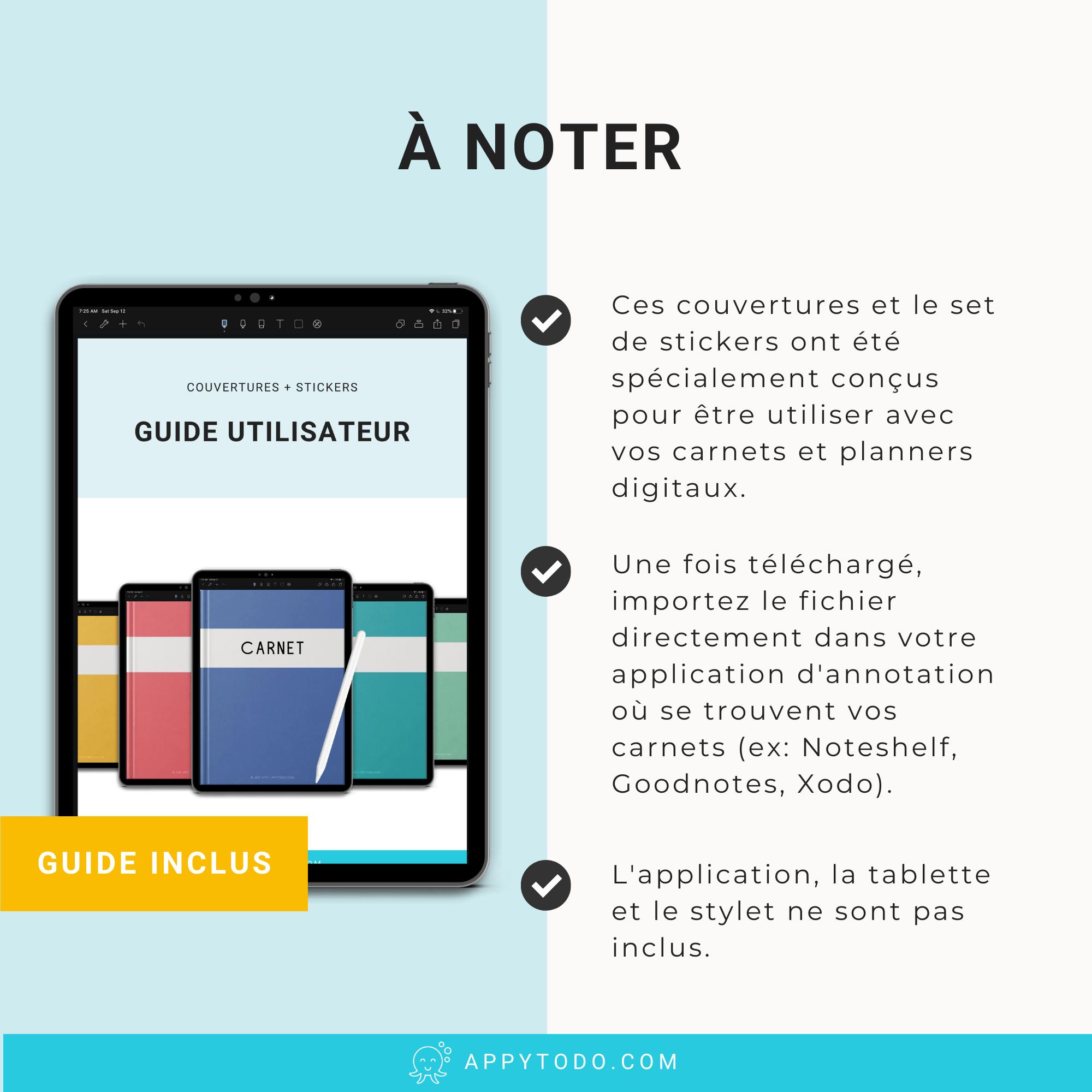 Guide pour utiliser des couvertures digitales