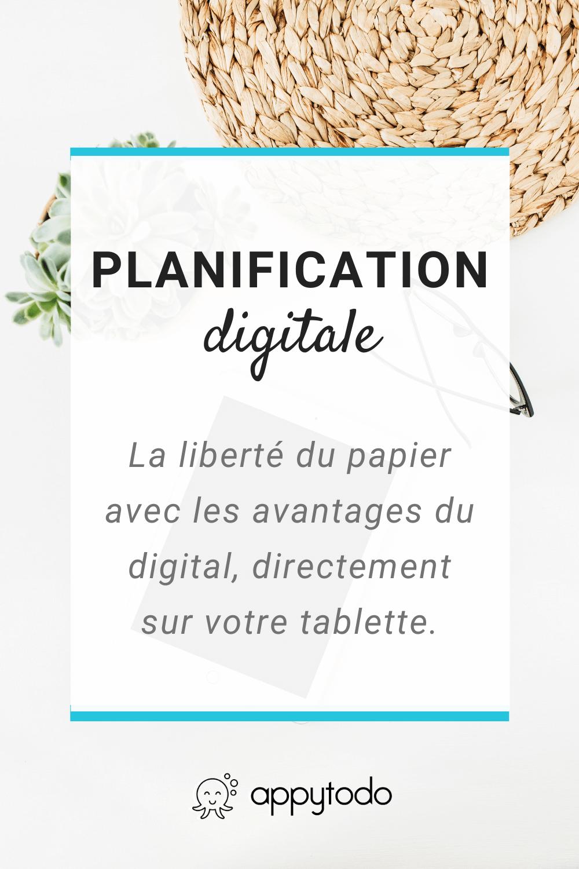 La Planification digitale : l'alliance du papier et du numérique sur votre tablette ou Ipad. Découvrez les conseils et outils autour de la planification digitale en français sur appytodo.com #planner #zeropapier #francais via @catherineappytodo