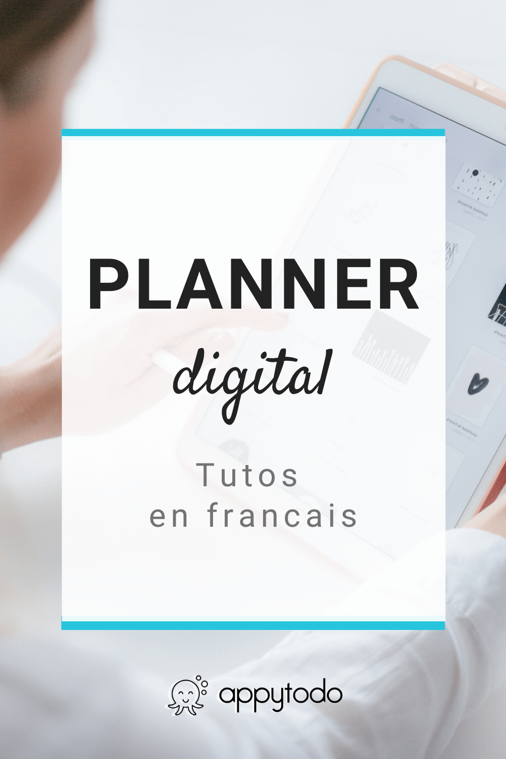 Débutant dans la planification digitale ? Découvrez les tutoriels en français de appytodo. Apprenez à importez votre planner sur votre tablette, utiliser votre application d'annotation Noteshelf, utiliser des stickers ou encore changer de couverture. #debutant #plannerdigital #francais via @catherineappytodo
