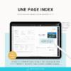 Planner digital en français sur Ipad et tablette