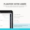 Planifiez votre année et organisez votre vie quotidienne avec ce planner digital