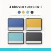4 couvertures bonus pour planner digital