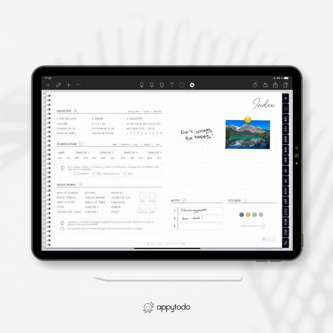Planner digital de appytodo