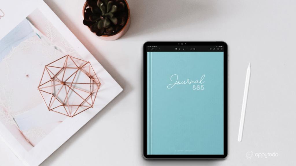 Bullet journal numérique : journal 365 de appytodo