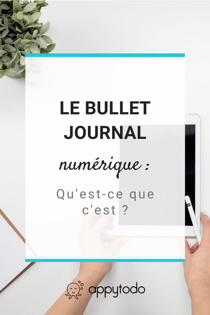 Connaissez-vous le bullet journal numérique ? Quelle différence avec le bujo traditionnel papier ? Rendez vous sur le blog de appytodo pour en savoir plus. #bulletjournal via @catherineappytodo