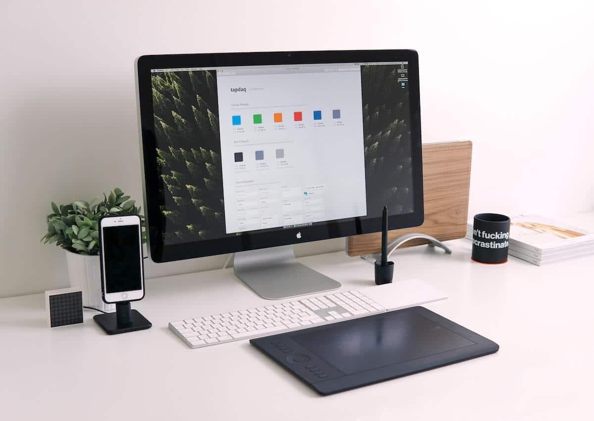 Bureau : Fichiers et dossiers sur ordinateur