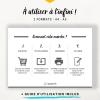 Utiliser des printables en français