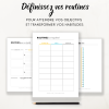 Kit Routines pour atteindre ses objectifs