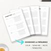 Trackers et fiches de suivi à imprimer